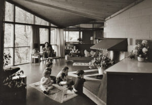 Strutt House (built in 1956), Gatineau Park Source: Strutt Foundation