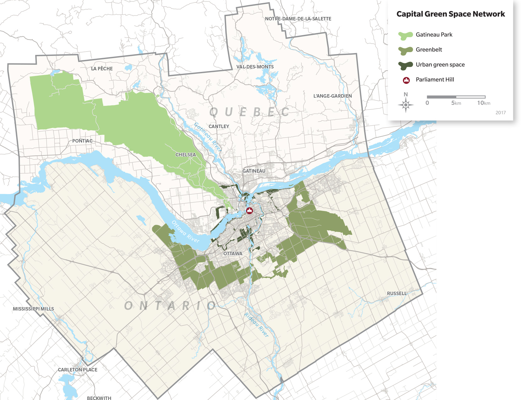 Capital Green Space Network